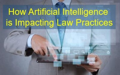 How Artificial Intelligence is Impacting Law Practices