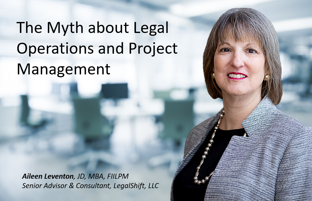 Legal Operations Mythbuster