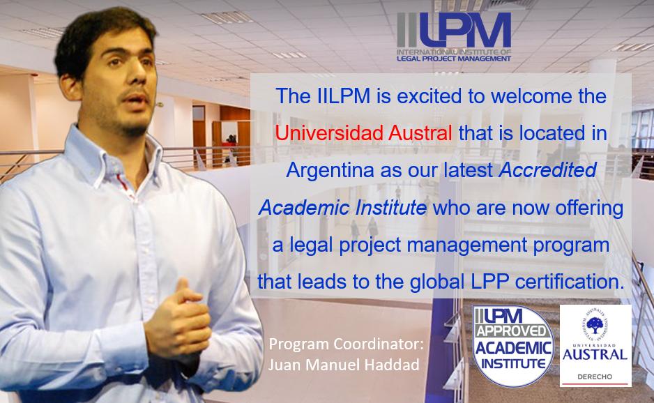 Universidad Austral (Argentina) Partners with IILPM