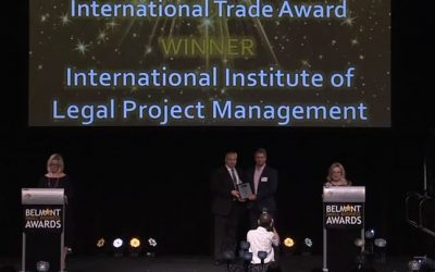 International Trade Award for the Institute