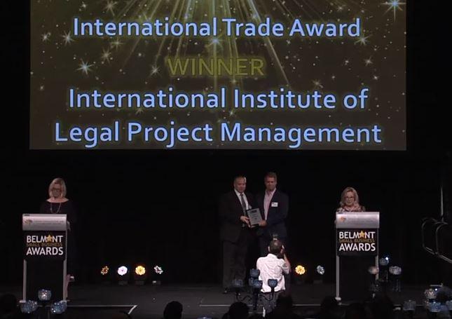 International Trade Award for the Institute