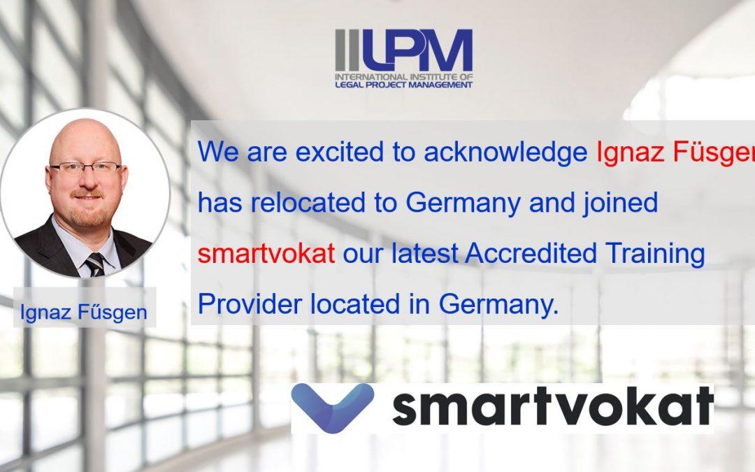 Ignaz Fűsgen joins smartvokat in Germany